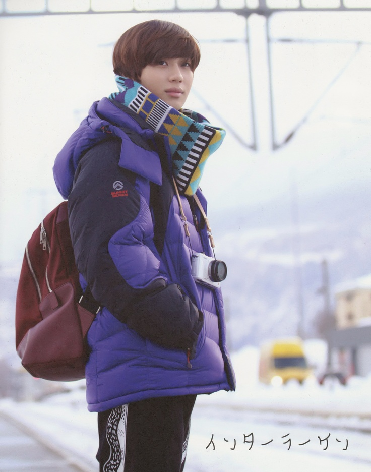 HQ (click the pic) Unpublished photo of SHINee Surprise Vacation Travel Note - TAEMIN. (credits: muki_SWJapan) #1