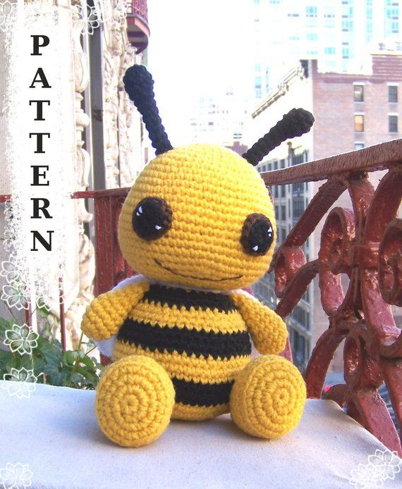 Bzzzz... Bee Amigurumi Ideas Free Crochet Patterns | 694x570