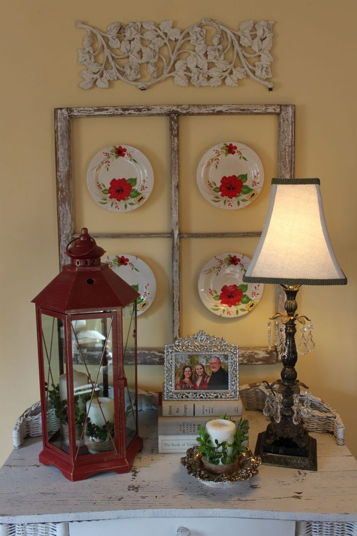 old window wall decorating ideas pinterest