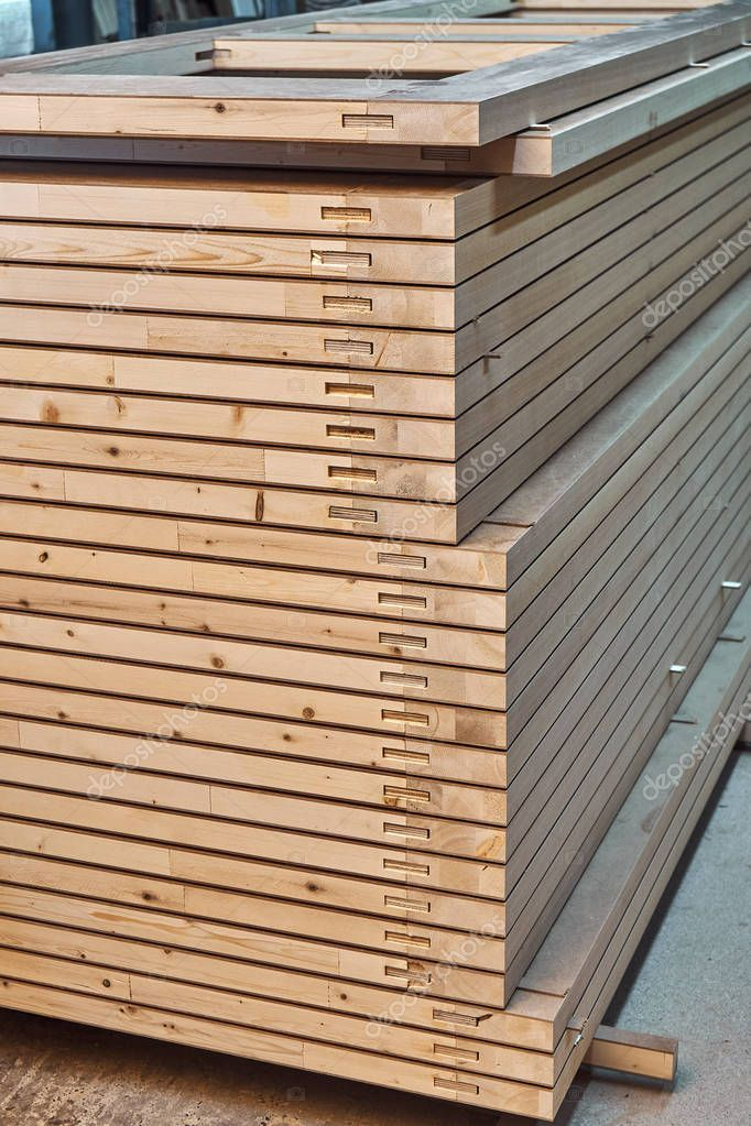 Joinery Wood Door Manufacturing Process Stacked Door Leafs Furniture Manufact Ad Door Manufacturing Joinery Wood Ad Wood Doors Wood Joinery