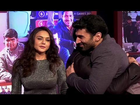 Preity Zinta At Grand Success Party Of DANGAL Movie.