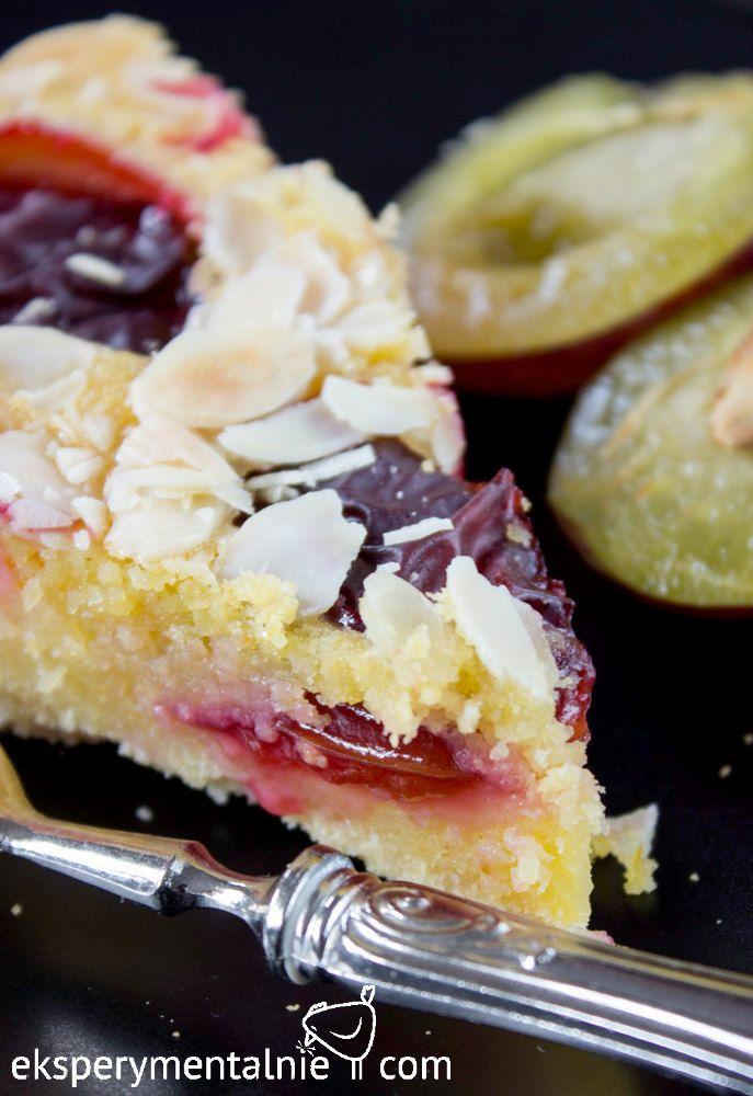 Placek ze śliwkami - bezglutenowe ciasto