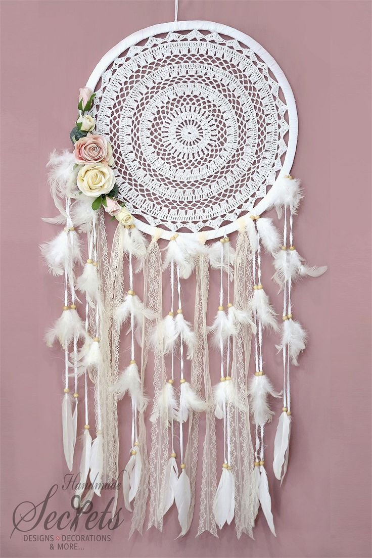 Dream Catcher Boho Dreamcatcher Handmade by AnnasHandmadeSecrets