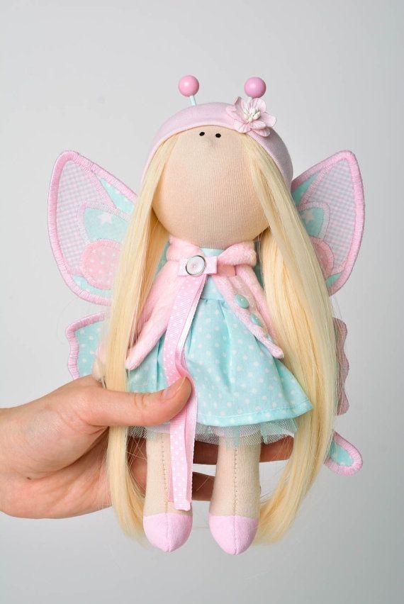 Judy doll-Handmade doll-doll by GumeniukToys on Etsy