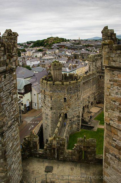 Caernarfon Castle, Wales | Flickr - Photo Sharing! By Dominic Scott Photography