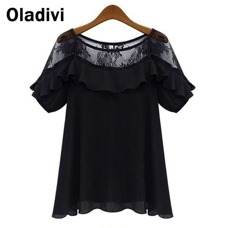 Find More Blouses & Shirts Information about 5XL Plus Size Roupas Blusas Femininas 2015 Summer Blouses Shirts Women See Through Short Sleeve Lace Chiffon Tops Female Clothes,High Quality shirt brand,China clothes college Suppliers, Cheap shirt philippines from Oladivi Group - Minabell Fashion Store on Aliexpress.com