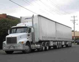 Freight-Freight-Freight! / Vans to B-Double Trucks - Queensland