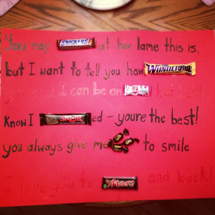 40 best candy poem images on pinterest | candy arrangements, candy, Ideas