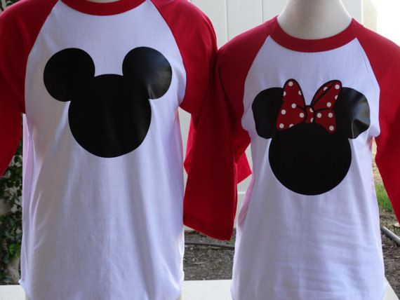 Free Shipping Disney Inspired Couples Baseball by DsWishingWell