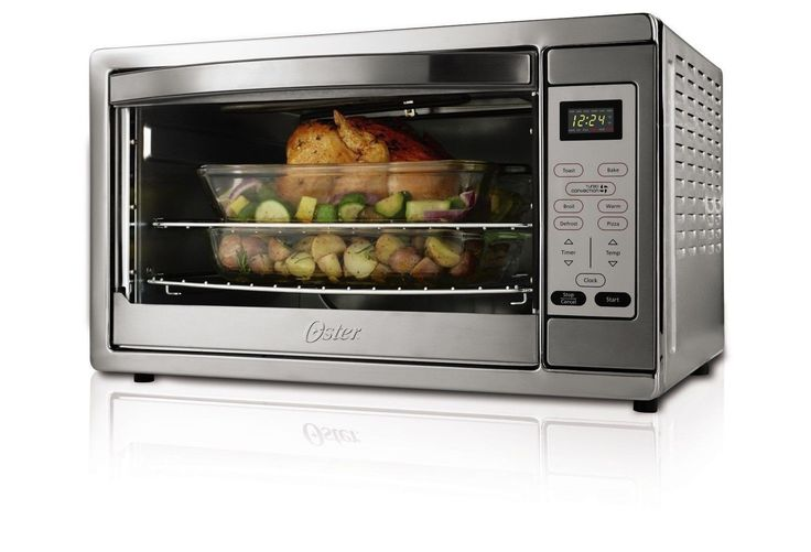 Oster Extra Large Digital Countertop Oven Stainless Steel TSSTTVDGXL-SHP