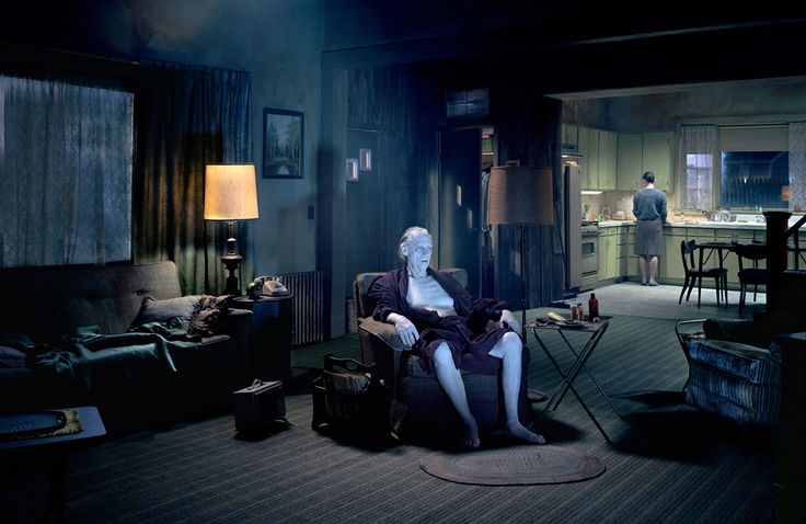 Death Fall - The way photographer Gregory Crewdson works