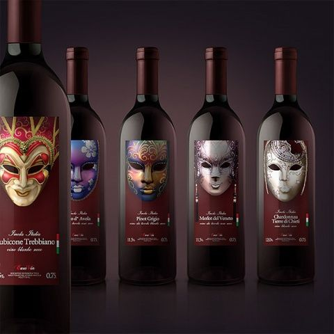 Just seeing these labels makes me want to try this wine.