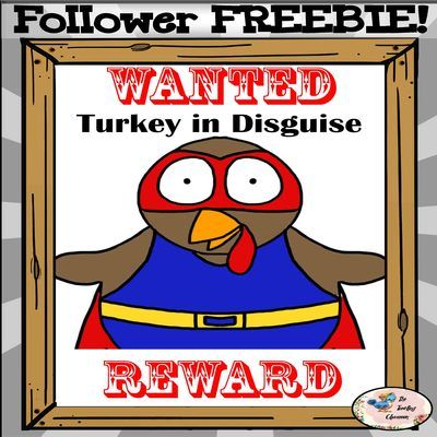 Thanksgiving Activities - Turkeys in Disguise FREE from TheTravelingclassroom on TeachersNotebook.com -  (10 pages)  - Turkeys in Disguise - Follower FREEBIE **Please leave your feedback if you download. You encourage me to continue sharing FREEBIES:)**
