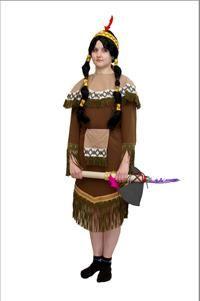 Индейские костюмы фото
