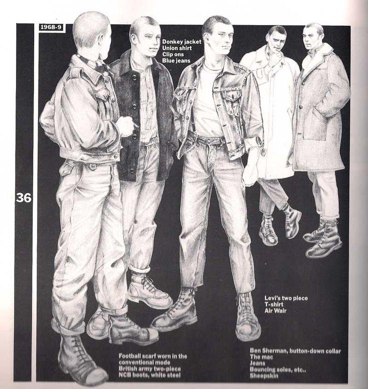 Traditional skinheads 1968/69