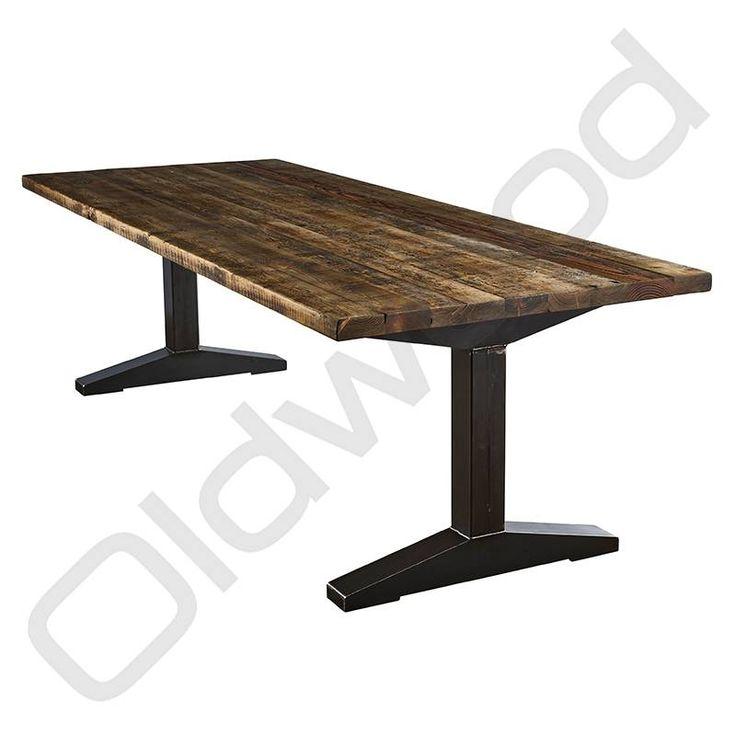 17 beste idee n over metalen tafels op pinterest stalen meubelen - Am pm stoelen ...