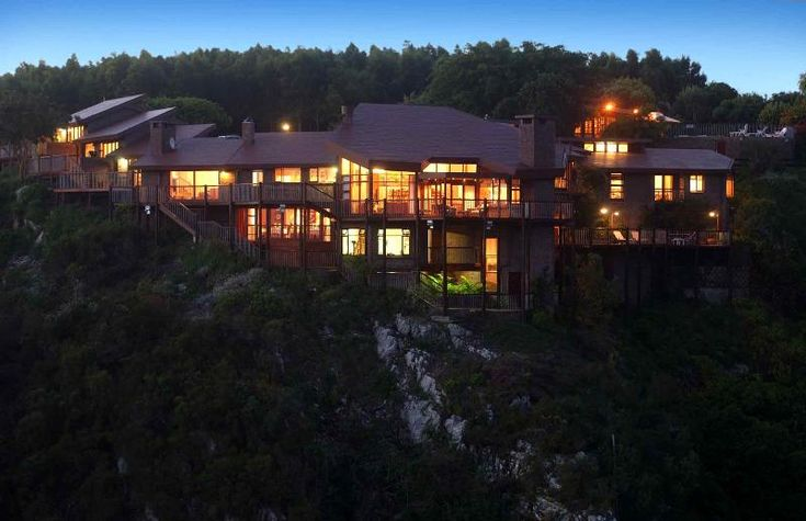 The Fernery Lodge & Chalets - Imagine sitting above a 30-metre waterfall, with breath-taking views of a river gorge and the wild Indian Ocean.  This is the setting of The Fernery Lodge.  It is hard to decide whether to admire the incredible ... #weekendgetaways #stormsriver #tsitsikamma #southafrica