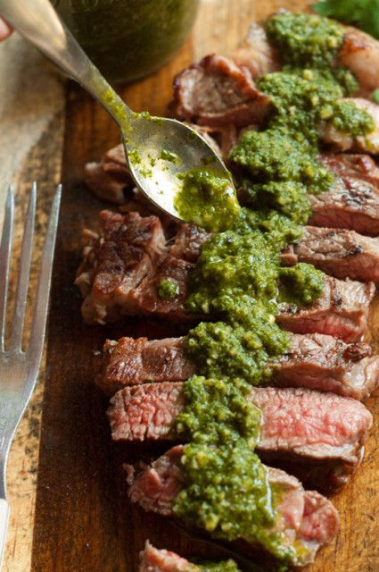 This Chimichurri Sauce is perfect on everything from steak to pasta to grilled cheese. It's one of our families favorite!