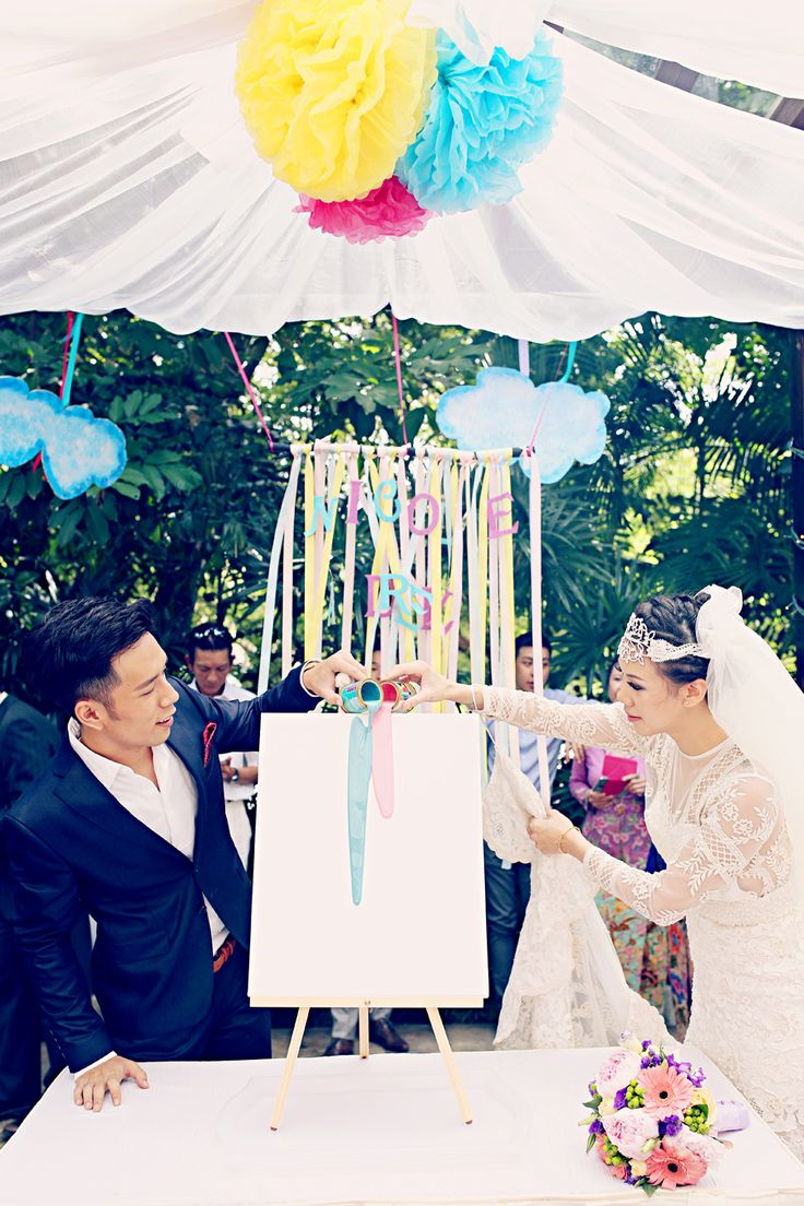 wedding reception photo booth singapore%0A Whimsical Handcrafted Wedding at One Rochester  Adriel   Nicole