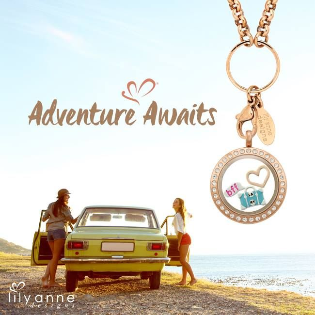 Adventure awaits! #LilyAnneDesigns #PersonalisedLockets #CapturingMoments #FreeToBeMe