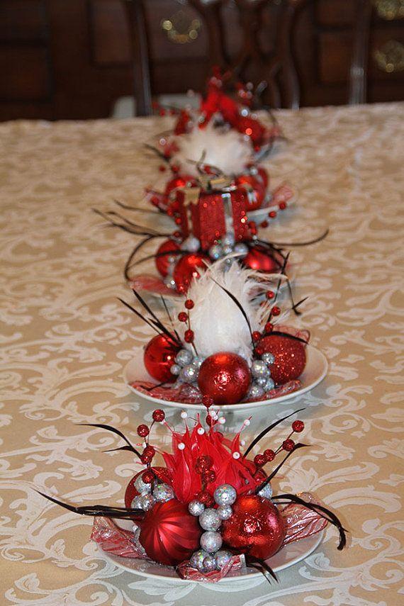 Fun Christmas Centerpiece Ideas : Best unique christmas decorations ideas on pinterest