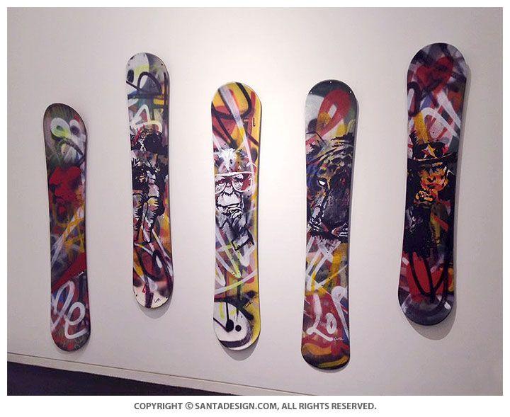 #Snowboard #Deck #Design #갤러리D #델피노리조트
