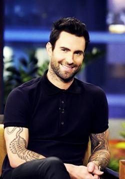 Adam Levine  Maroon 5.. one of the sexiest men alive