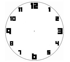 The  Best Wall Clock Face Template Ideas On   Wall