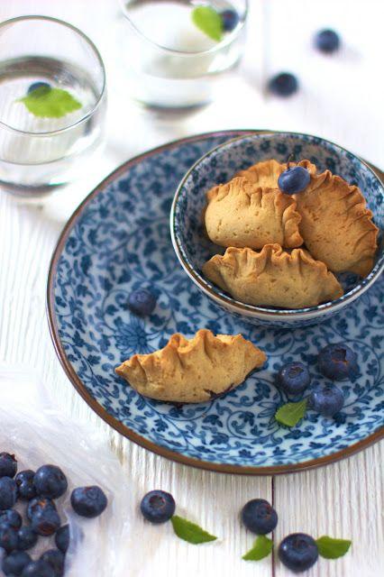 Just My Delicious: Pieczone Pierogi z Jagodami