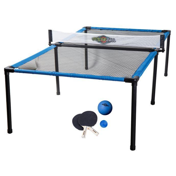 Franklin Sports Spyder Pong Tennis Game Set Table Tennis Set Tennis Games Outdoor Table Tennis Table