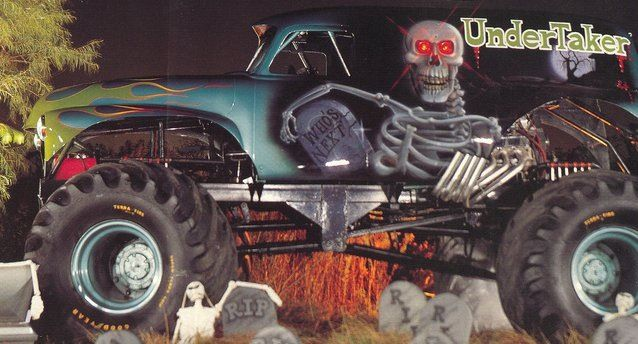 Undertaker | Monster Trucks | Pinterest | Undertaker