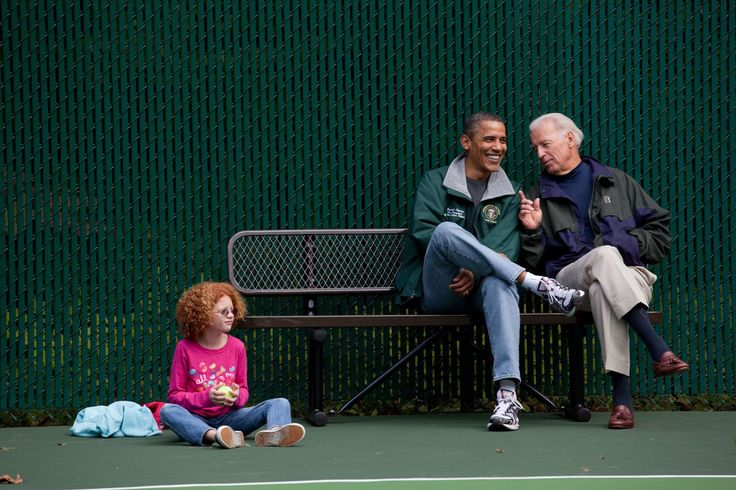 Do you know what's more fun than watching a tennis match at Camp David? Watching a tennis match at Camp David with your best bro by your side.  #refinery29 http://www.refinery29.com/2016/11/130534/pictures-joe-biden-barack-obama-bromance#slide-9