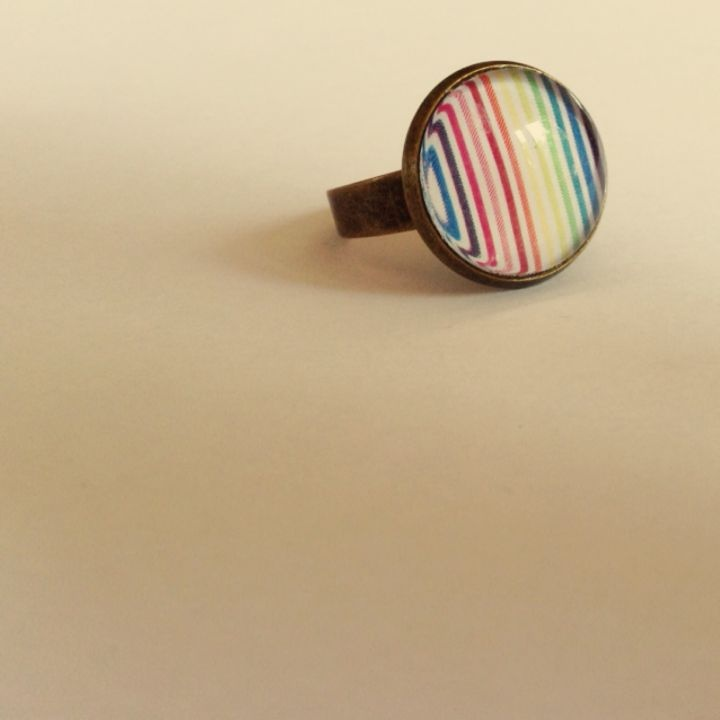 Csupa csík gyűrű, szines egyéniségeknek by http://www.breslo.hu/SoadyArt/shop