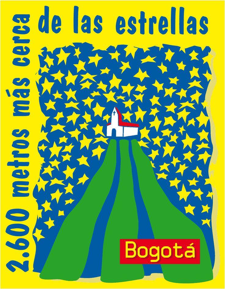 Afiche oficial de la campaña #Bta2600MtsMasCercaDeLasEstrellas que ahora queremos rescatar (el slogan y posicionamiento, la gráfica puede cambiar) ;)