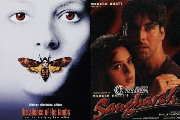 """Foreign Movies That Ripped Off American Films - Though the Bollywood psychological crime thriller is said to be """"inspired"""" by The Silence of the Lambs, the director of Sangharsh, Tanuja Chandra, denies this claim."""