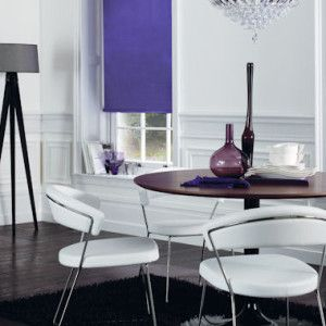 Purple Dim Out Roller Blind