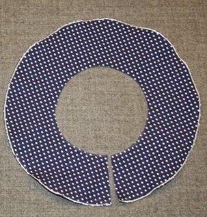 Patrón para hacer un volante circular sin cálculos matemáticos - yo elijo Coser