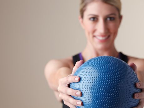 6 Power-Training Exercises.  Medicine ball slam and jump squat are my favorites!