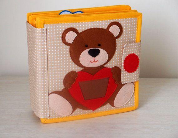 Tranquillo libro, libro occupato, libro di attività, giocattolo educativo sensoriale per bimbo e bambino, regalo per il bambino (2-6 anni)