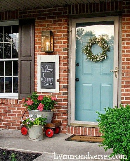 20 Front Door Ideas: Best 20+ Small Front Porches Ideas On Pinterest