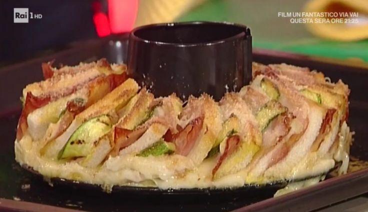 La prova del cuoco   Ricetta ciambella di sandwich di Andrea Mainardi