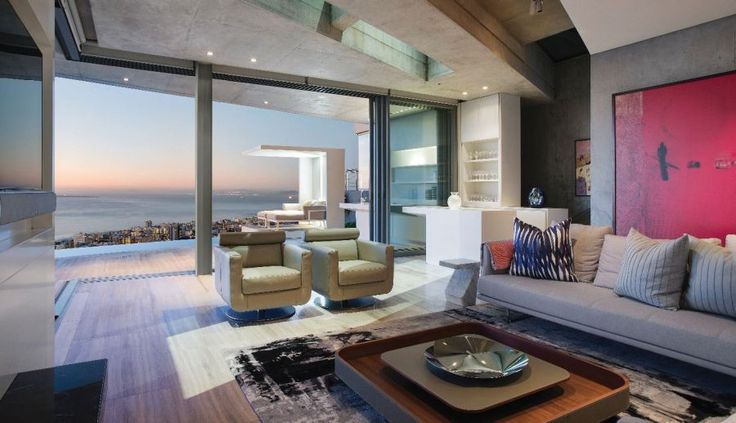 Integration of interior decoration and supply of outdoor decoration for designer home. Cape Town - South Africa