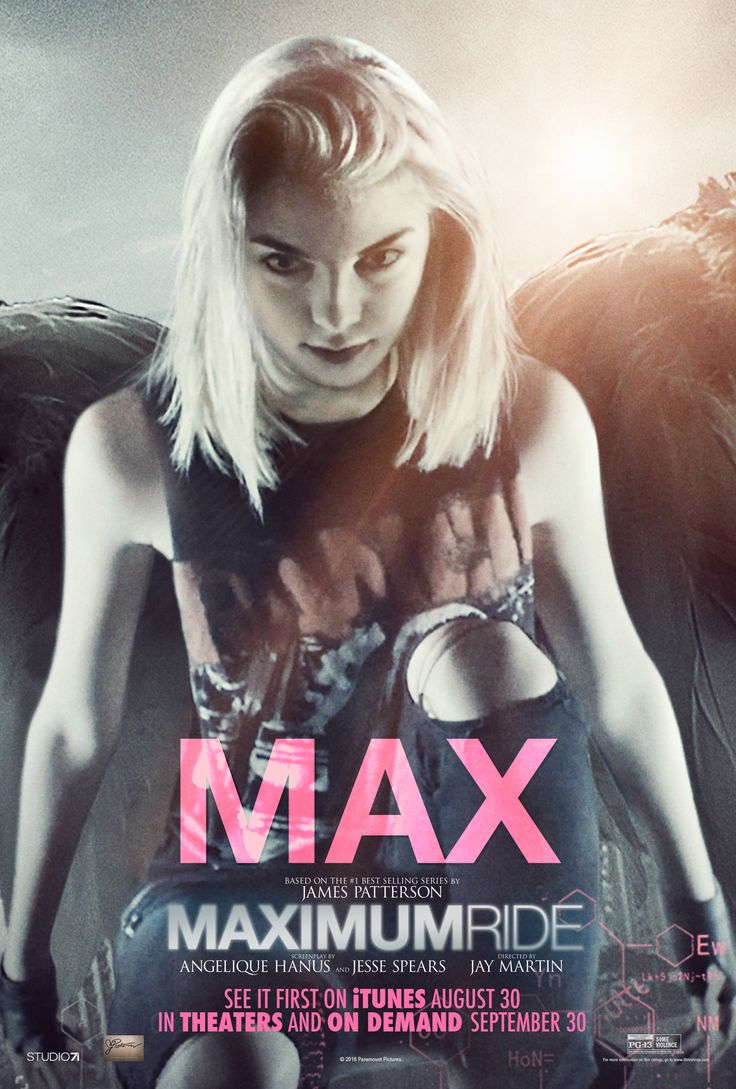 EXCLUSIVE Paramount Debuts Maximum Ride Character Posters