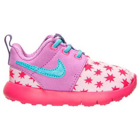 Girls' Toddler Nike Roshe One Print Casual Shoes – 749354 604 | Finish Line – For little ones