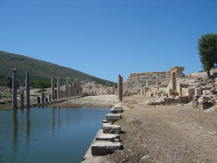 Patara - Lycische ruïnes en een amfitheater