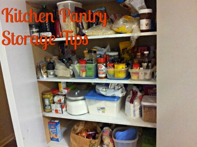 Kitchen pantry storage tips ideas cheap storage and for Cheap kitchen storage ideas