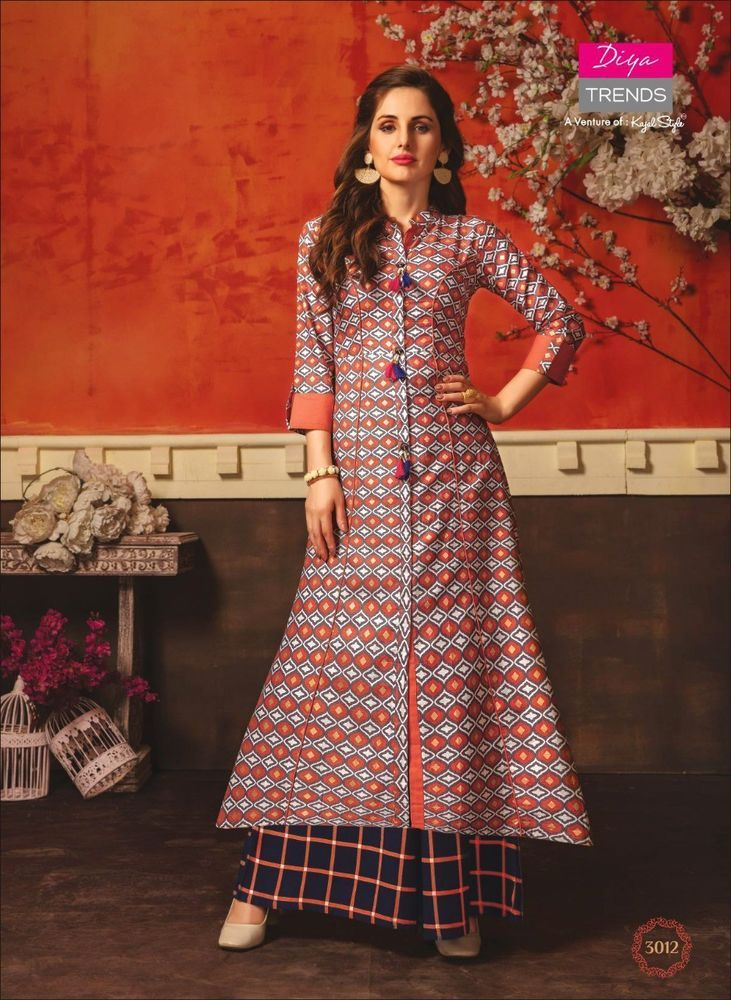 675b2fedd88 Indian Kurta Kurti Bollywood Pakistani Women Designer Long Tunic Top Dress  New  fashion  clothing  shoes  accessories  worldtraditionalclothing ...