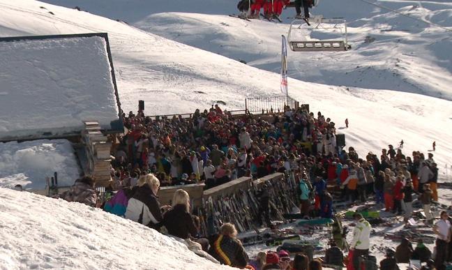 Après ski : La Folie Douce à Val Thorens