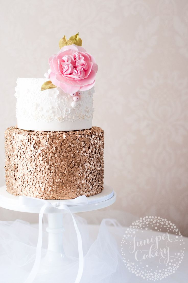 Gold Sequin Cake Decoration : The 25+ best ideas about Sequin Cake on Pinterest ...