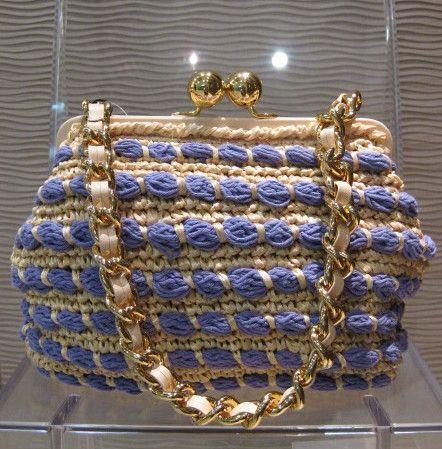 Capaf crochet purse